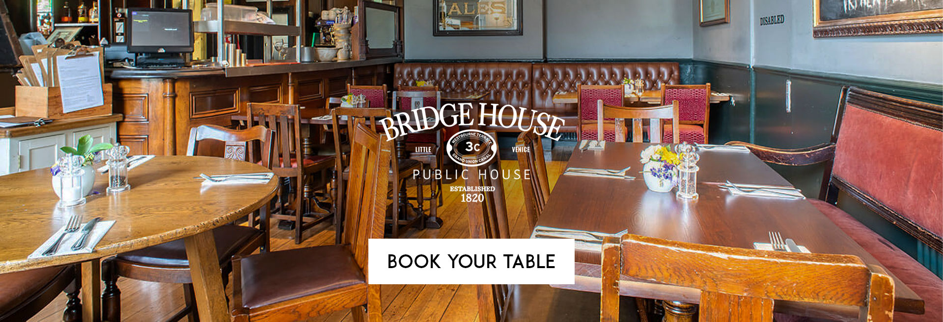 Book Your Table at The Bridge House